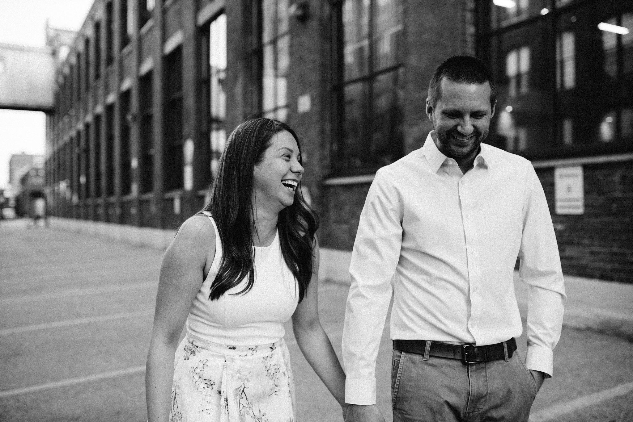 Carpet Factory Engagement Photos - Olive Photography Toronto