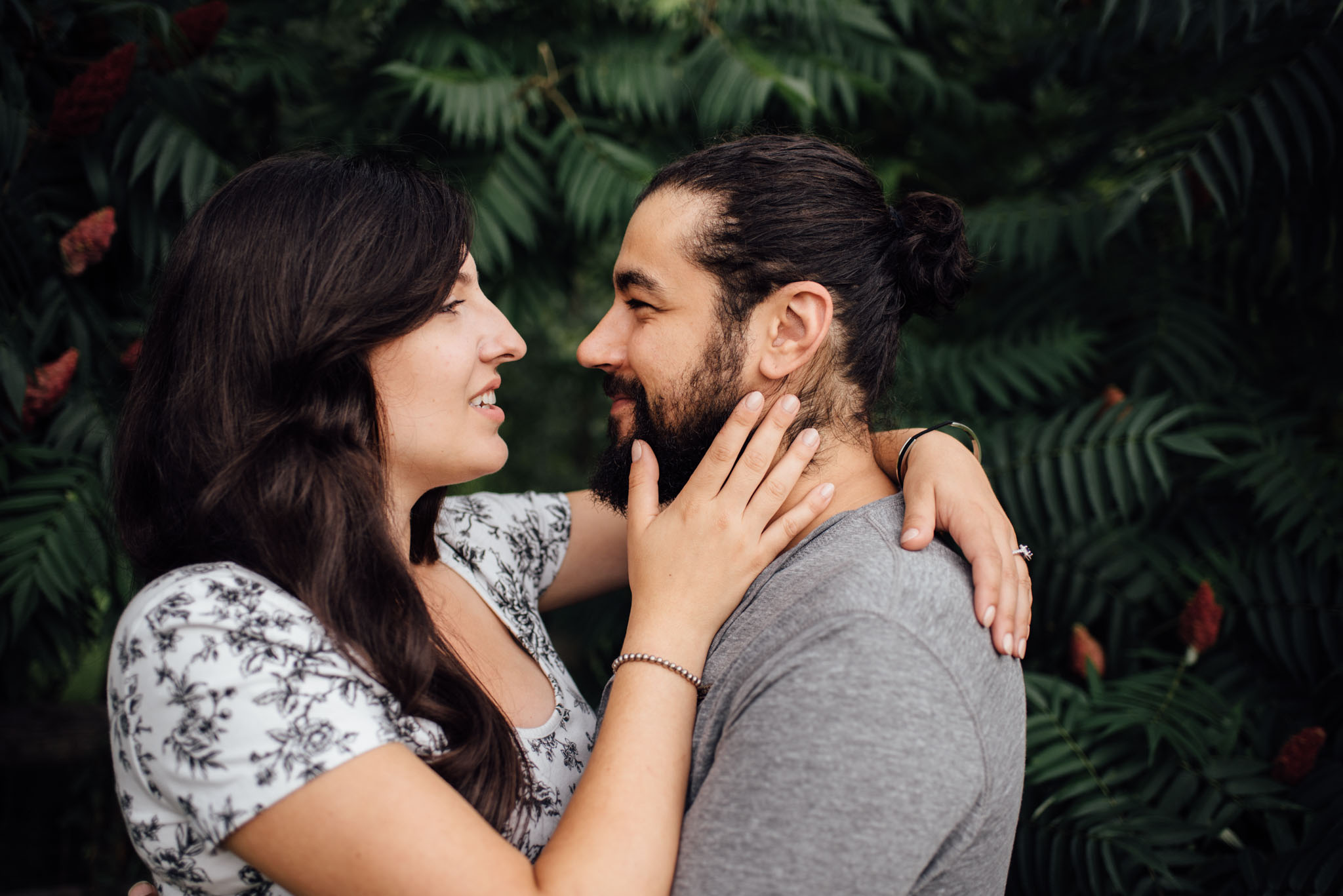 Toronto Ravine Engagement | Olive Photography