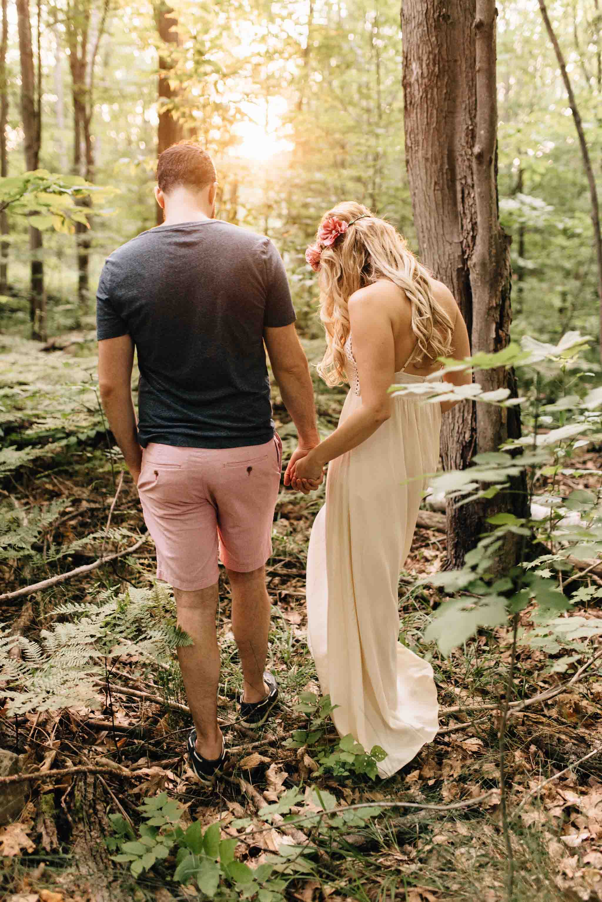Muskoka Cottage Engagement Session | Olive Photography Toronto