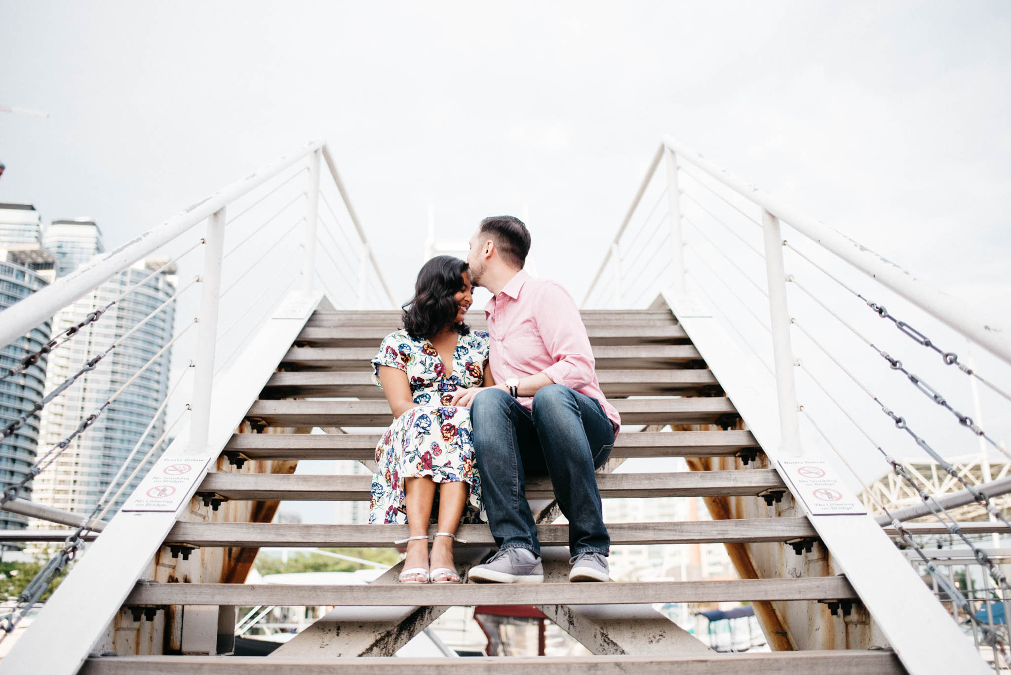 Toronto Harbourfront Engagement Photos | Olive Photography
