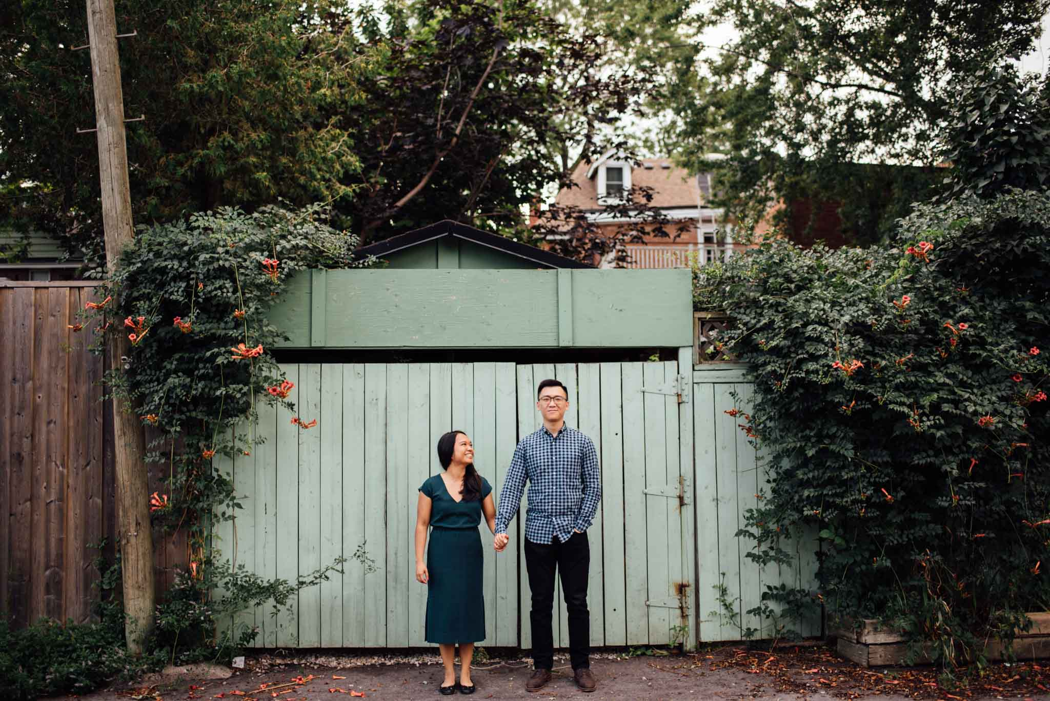 Leslieville Engagement Photos | Olive Photography Toronto