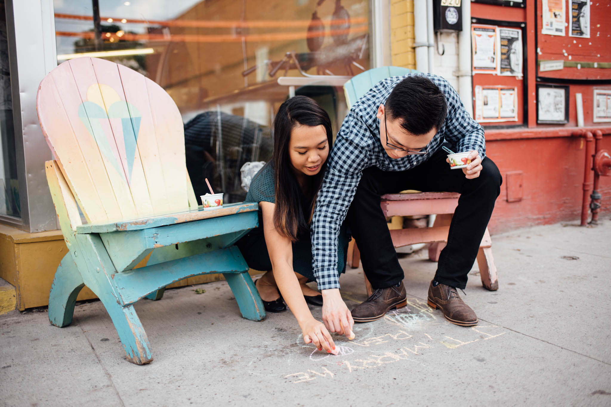Ed's Ice Cream Engagement Photos | Olive Photography Toronto
