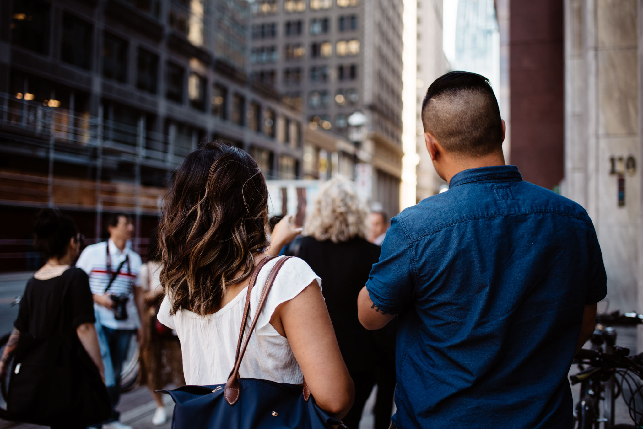 Downtown Toronto Engagement Session | Olive Photography