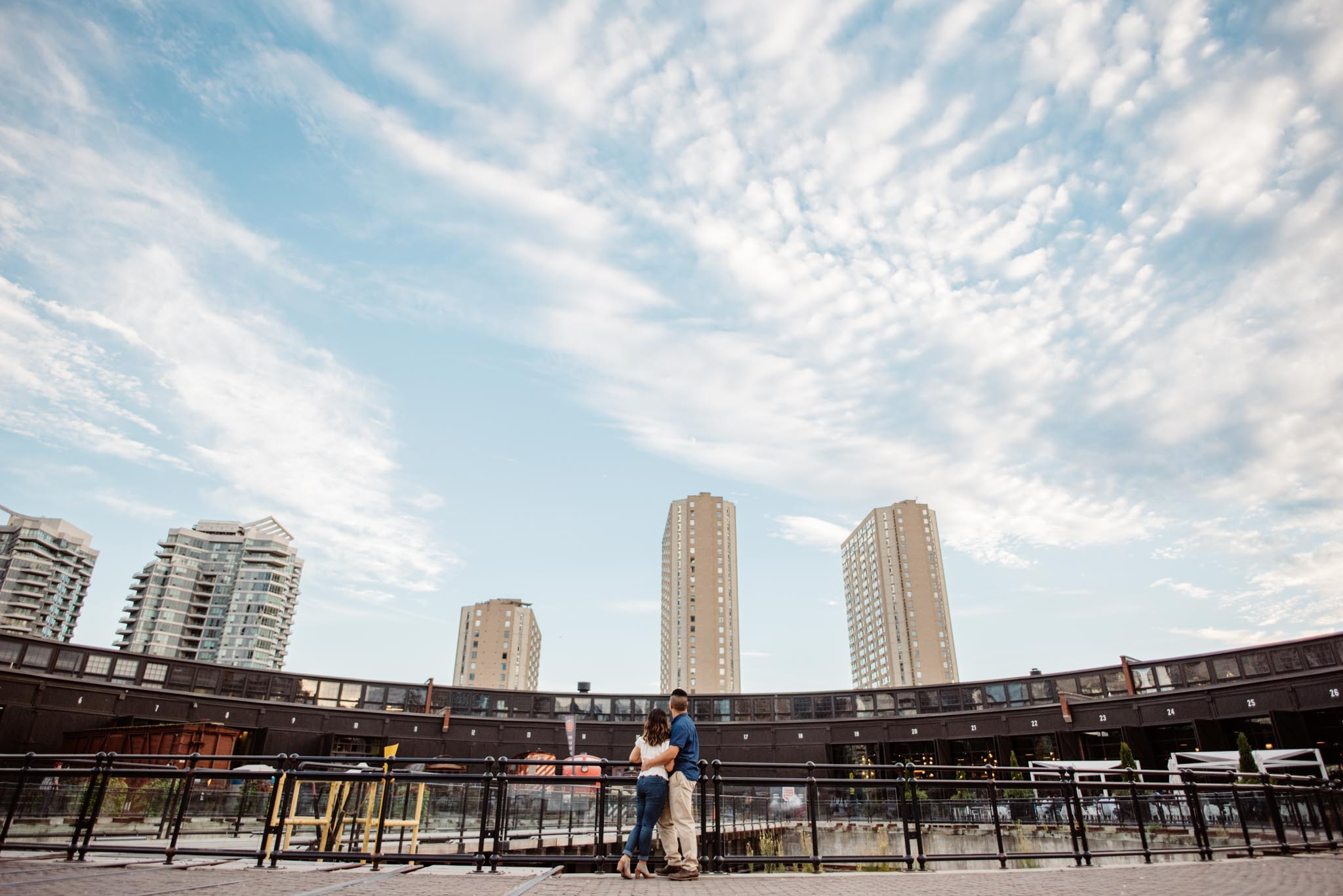 Steam Whistle Engagement Photos | Olive Photography Toronto