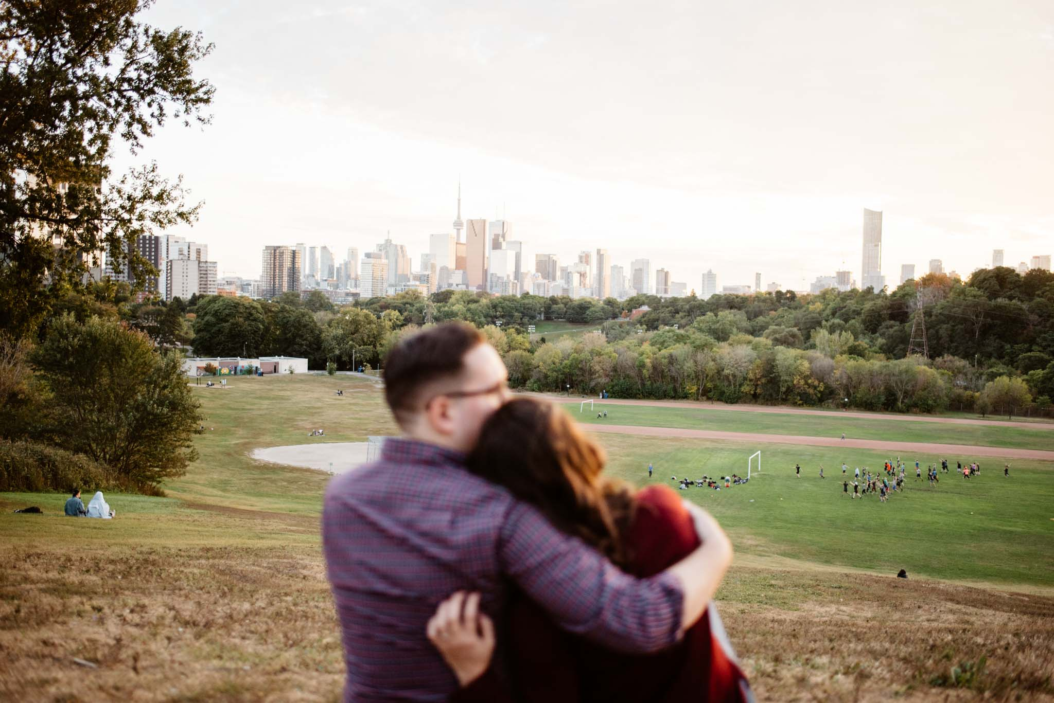 Riverdale Park Engagement Photos | Olive Photography Toronto