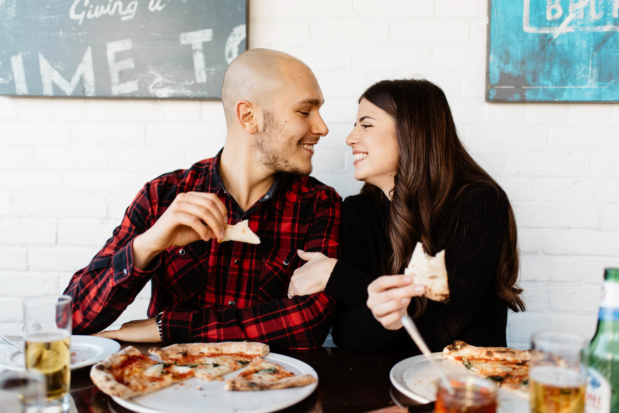 Queen Margherita Pizza Engagement Photos | Olive Photography Toronto