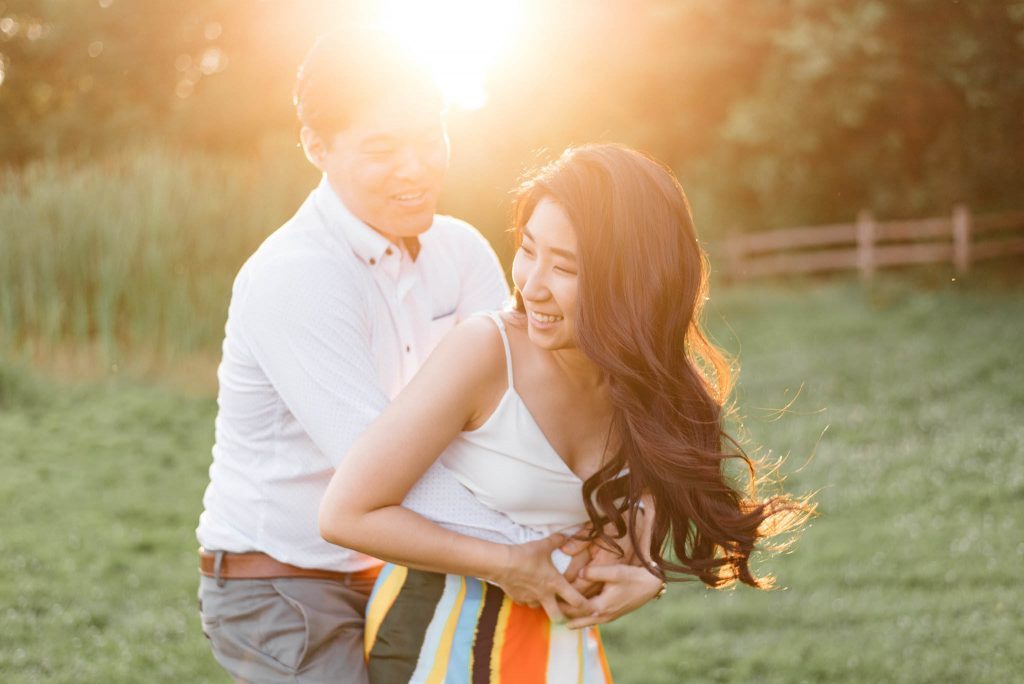Riverdale Park Engagement Photos | Frances & JP