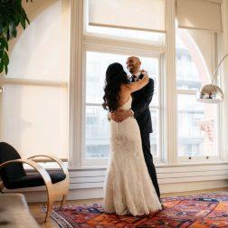 Gladstone Hotel Winter Wedding | Belinda & Conor