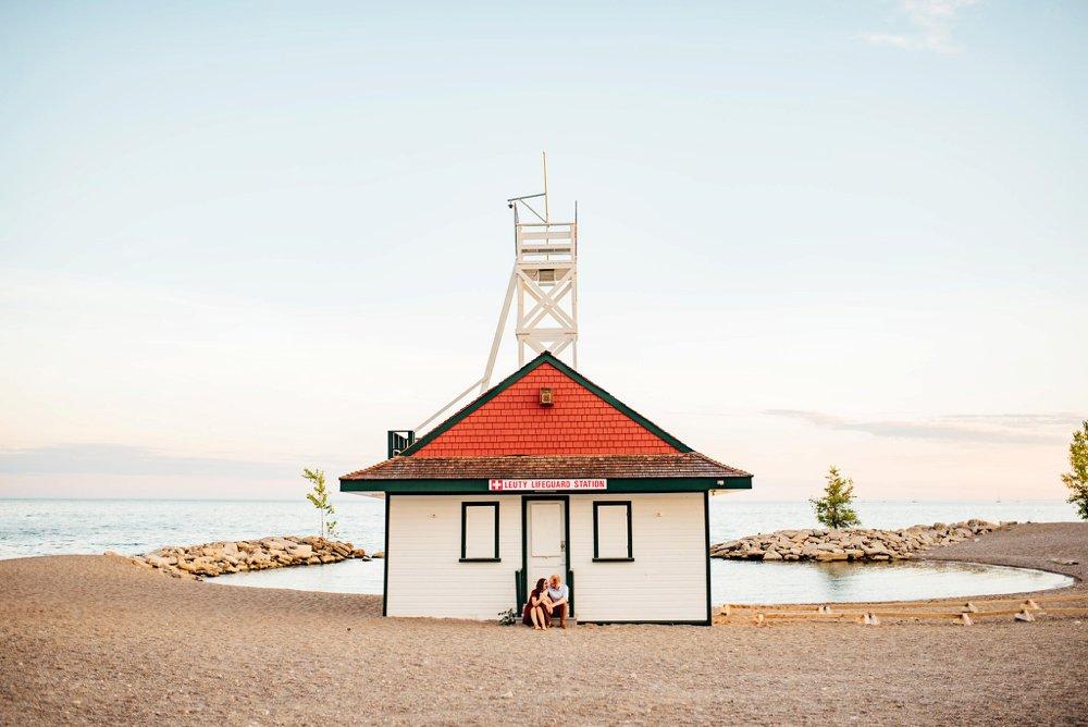Kew Beach Engagement Photos | Melanie & Andrew
