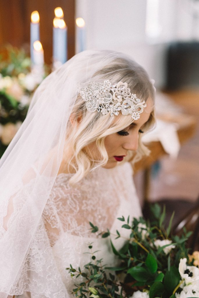 Dark Floral Wedding Inspiration
