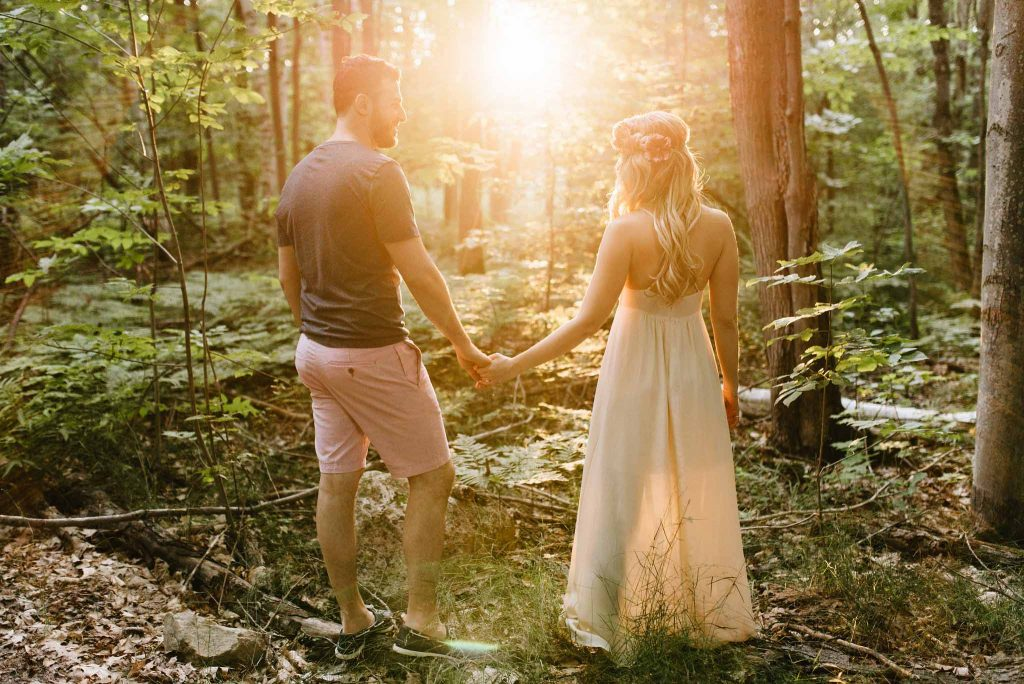 Cottage Engagement Session | Marshall & Irini