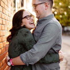 Leslieville Fall Engagement | Giulia & John