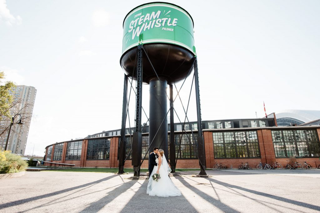 Steam Whistle Brewery Wedding | Courtney & Dan